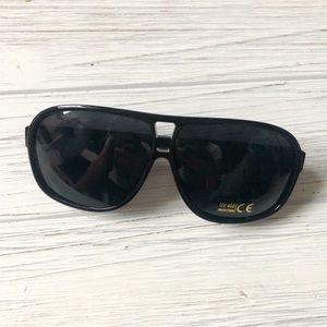 Wild Black Aviator UV 400 Fashion Sunglasses